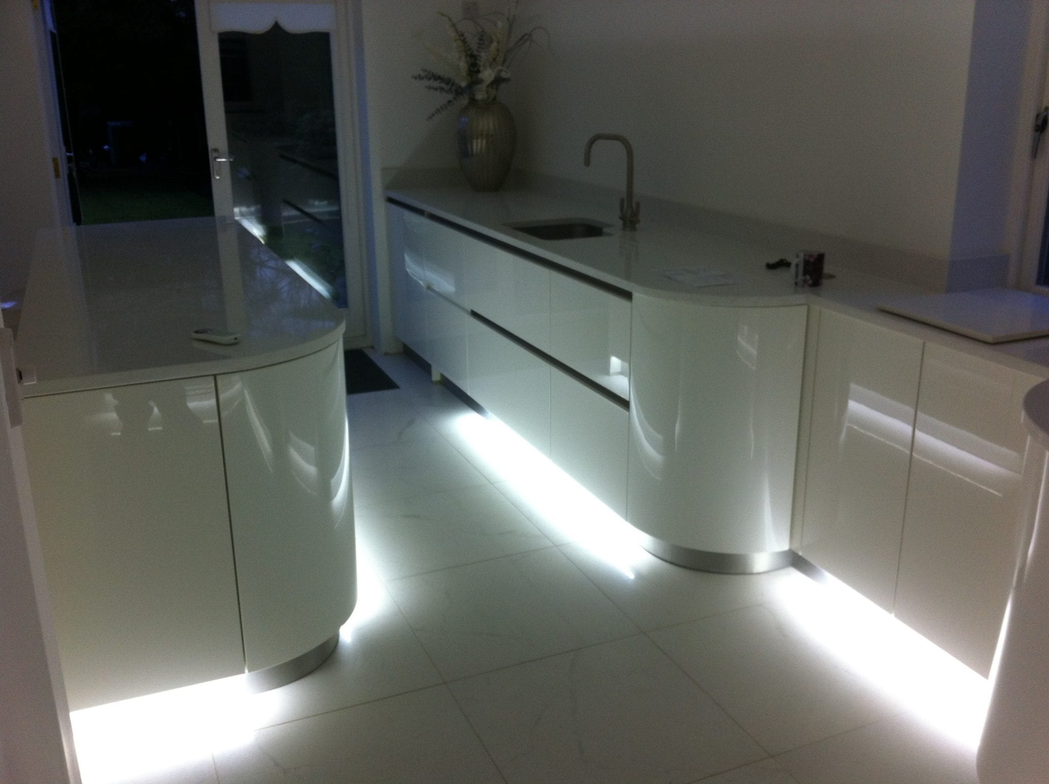 Photo gallery of electrician work by birch electrical ltd cool white led plinth lights aloadofball Choice Image